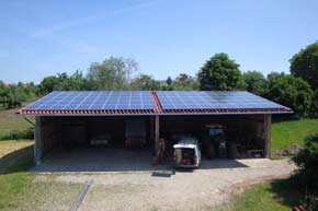 22,4 kWp PV-Anlage in Bergatreute